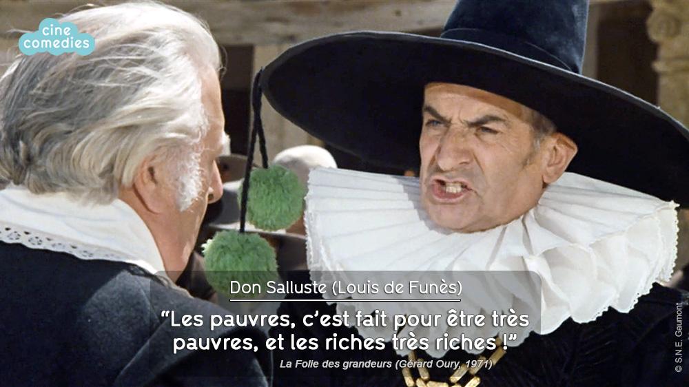 La Folie des grandeurs (Gérard Oury, 1971) - réplique 2