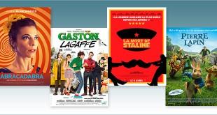 sorties Comédie du 4 avril 2018 : Abracadabra, Gaston Lagaffe, La Mort de Staline