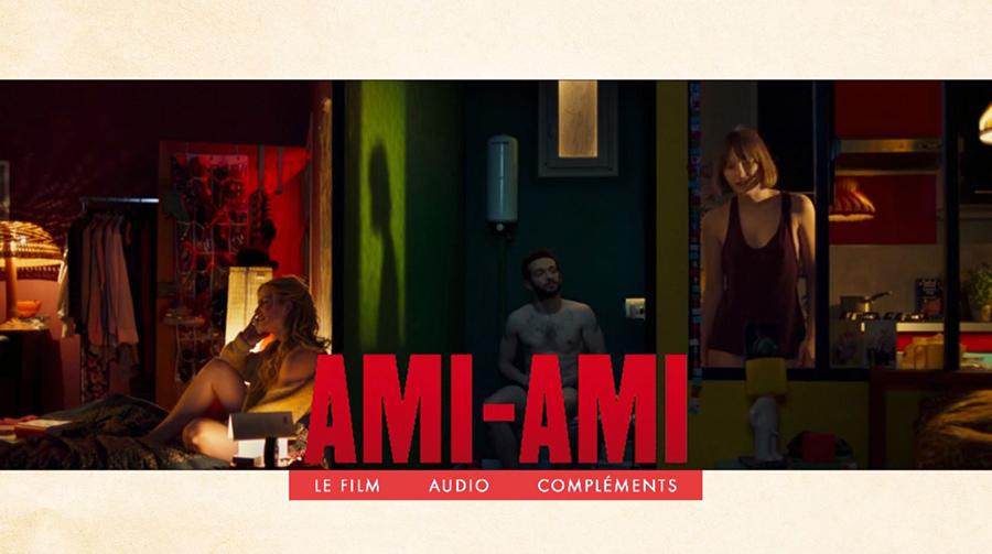 Blu-ray Ami-Ami - Menu principal