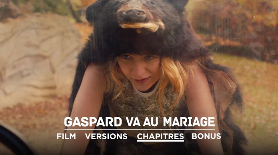 DVD Gaspard va au mariage - menu principal