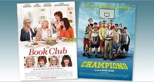 sorties Comédie du 6 juin 2018 : Le Book Club, Champions