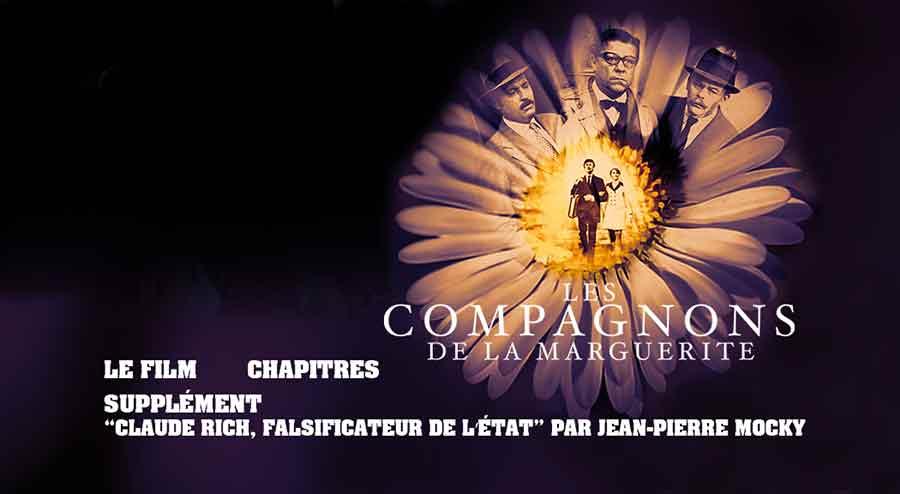 Les Compagnons de la Marguerite - Menu DVD