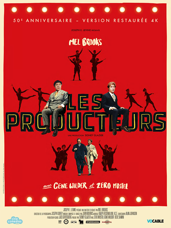 Les Producteurs (The Producers) de Mel Brooks (1967)