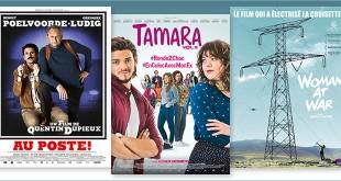sorties Comédie du 4 juillet 2018 : Au poste !, Tamara vol.2, Woman at War