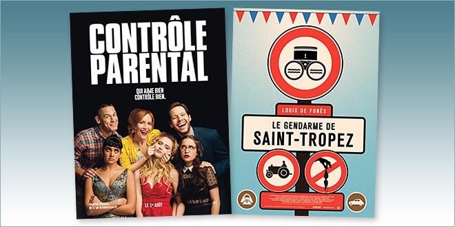 sorties Comédie du 1 août 2018 : Contrôle parental (Blockers), Le Gendarme de Saint-Tropez (rep.1964)