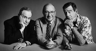 Hommage à Neil Simon, entouré ici de Jack Lemmon et Walter Matthau - © photo : Timothy White, 1997