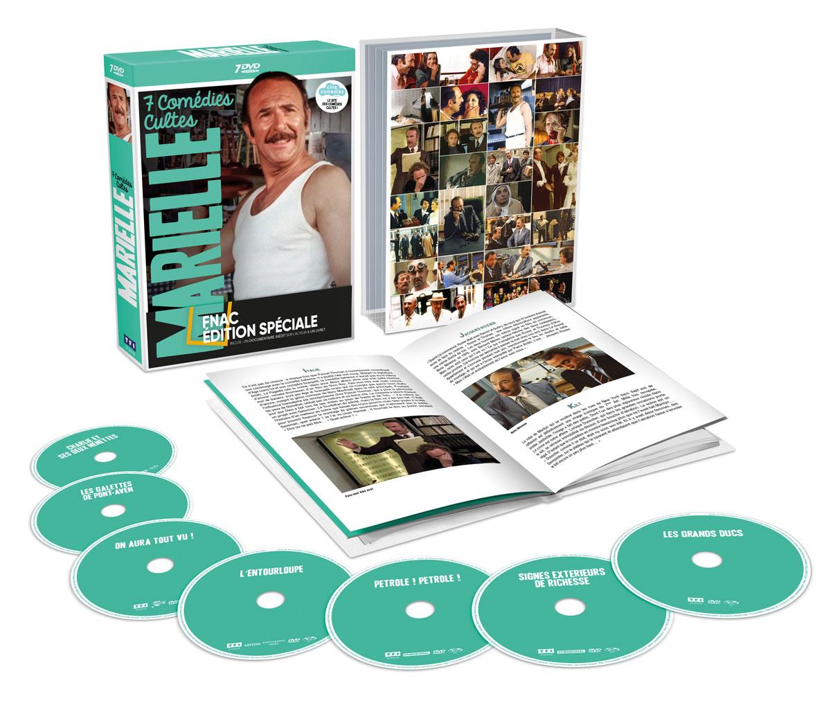 Jean-Pierre Marielle : 7 comédies cultes en coffret DVD (TF1 Studio)