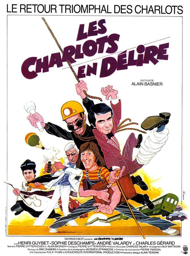 Les Charlots en délire (Alain Basnier, 1979)