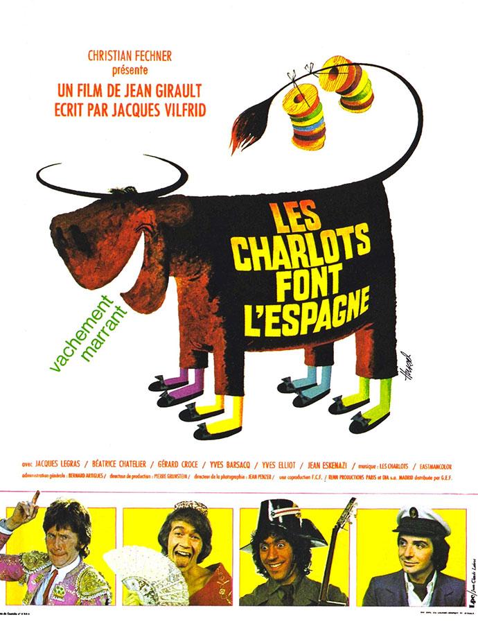 Les Charlots font l'Espagne (Jean Girault, 1972)
