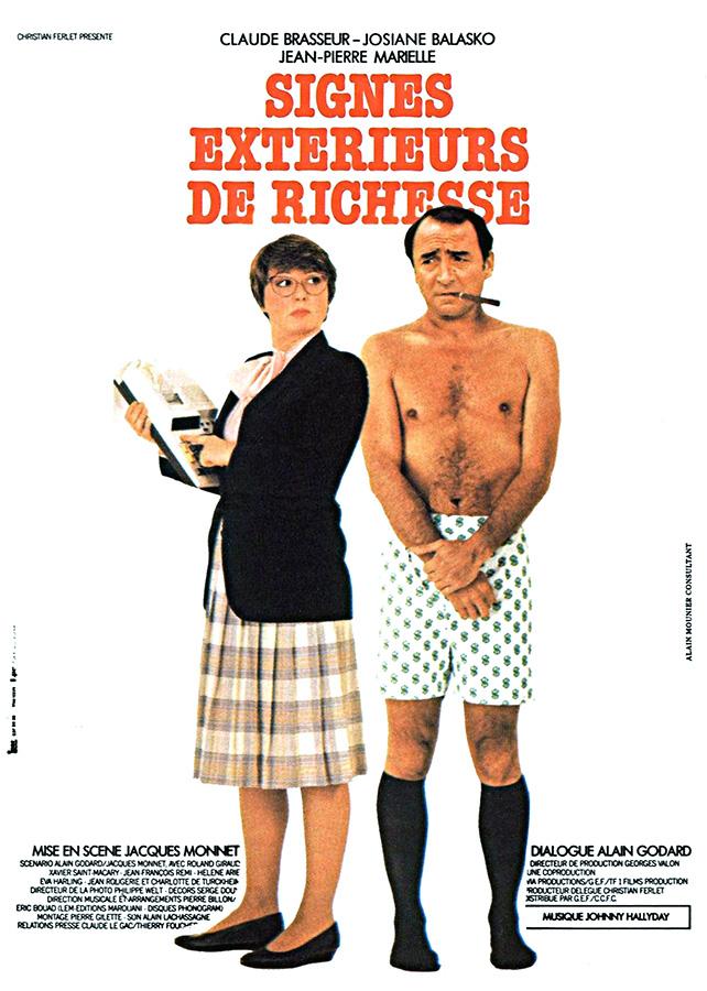 Signes extérieurs de richesse (Jacques Monnet, 1983)