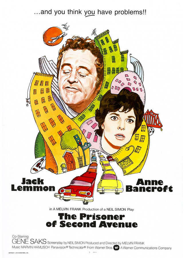 The Prisoner of Second Avenue (Le prisonnier de la seconde avenue, Melvin Frank, 1975)