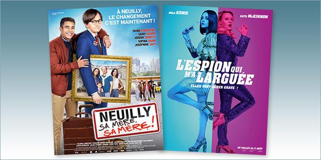 sorties Comédie du 8 août 2018 : Neuilly sa mère, sa mère, L'Espion qui m'a larguée (The Spy Who Dumped Me)