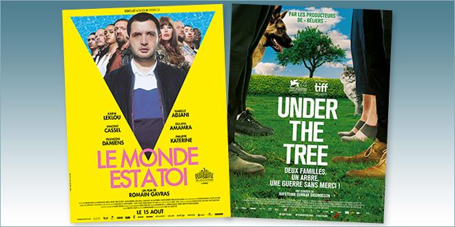 sorties Comédie du 15 août 2018 : Le Monde est à toi, Under the Tree (Undir Trénu)