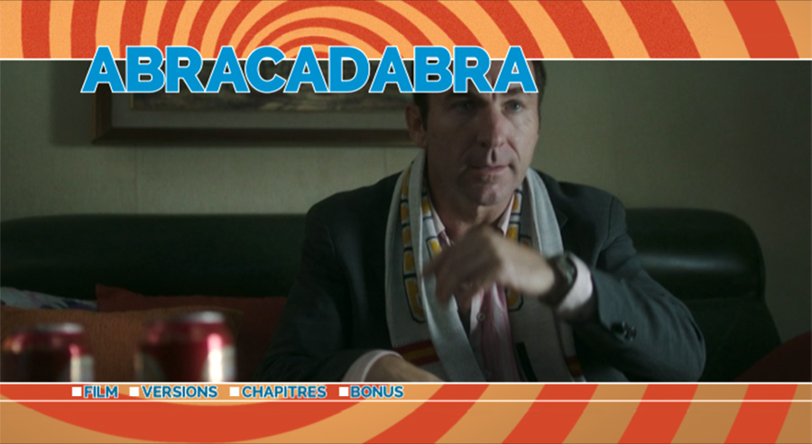 DVD Abracadabra - menu principal