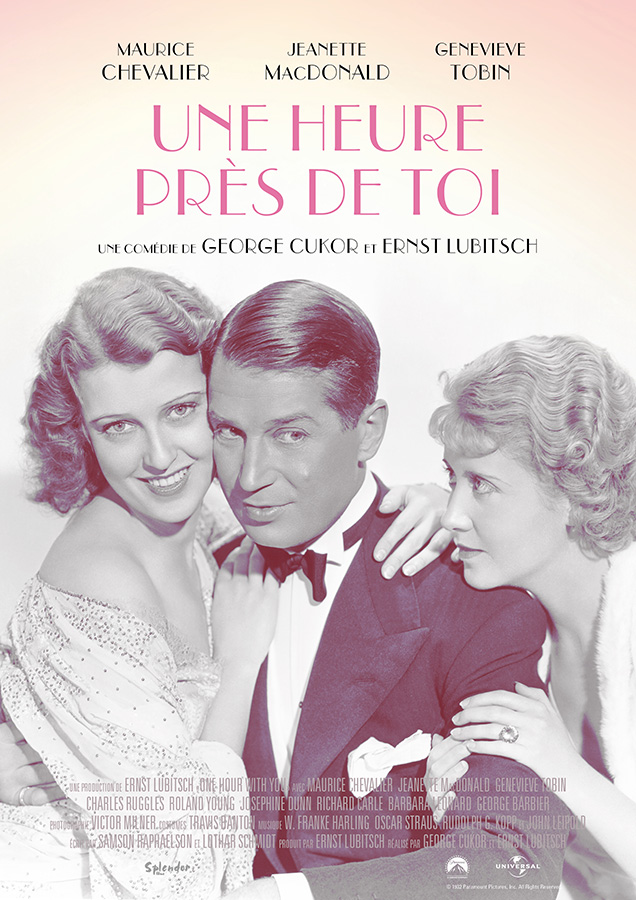 Une heure près de toi (One Hour With You) de Ernst Lubitsch assistéde George Cukor (1932)