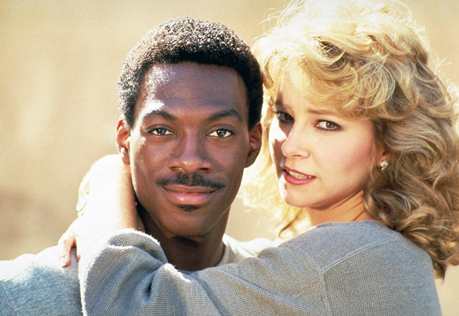 Eddie Murphy et Lisa Eilbacher dans Le Flic de Beverly Hills (Martin Brest, 1984)