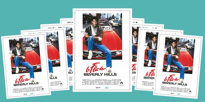 Jeu-concours - Gagnez une affiche du Flic de Beverly Hills