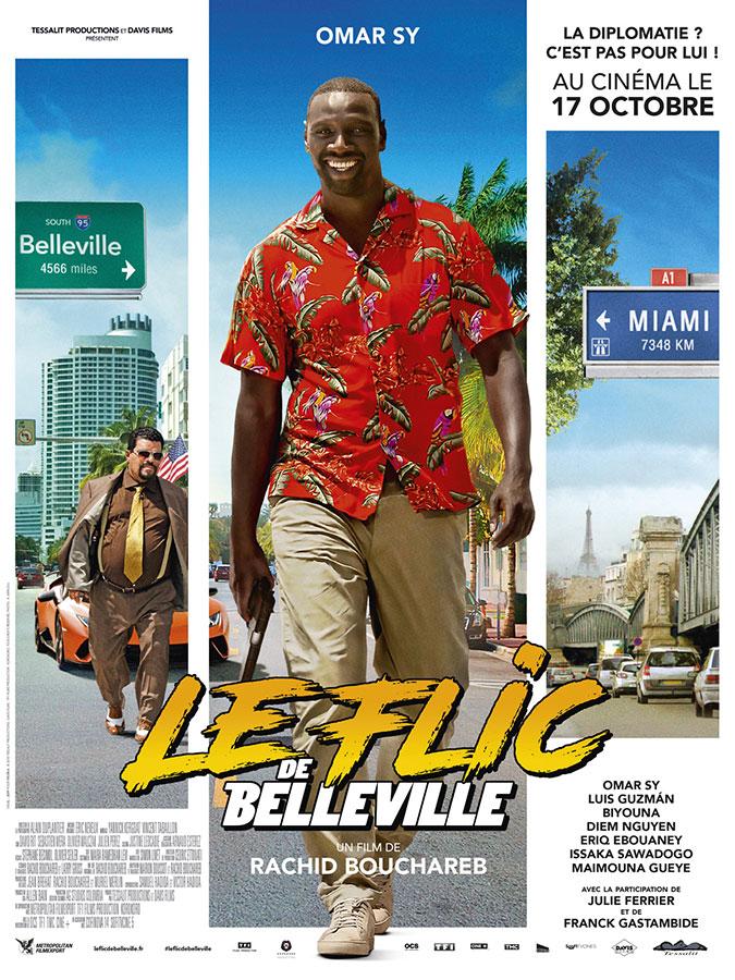 Le Flic de Belleville (Rachid Bouchareb, 2018)
