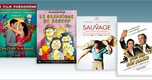 sorties Comédie du 7 novembre 2018 : Crazy Rich Asians, Le Graphique de Boscop (1976), Le Sauvage (1975), Tout feu tout flamme (1981)