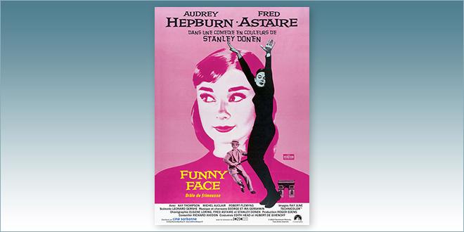 sortie Comédie du 14 novembre 2018 : Drôle de frimousse (Funny Face, 1957)