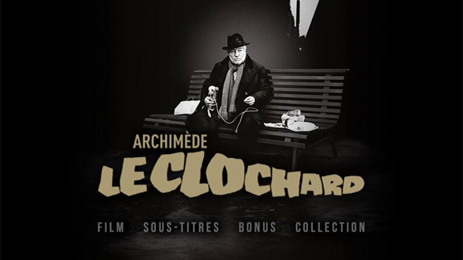 Blu-ray Archimède le clochard - Menu principal