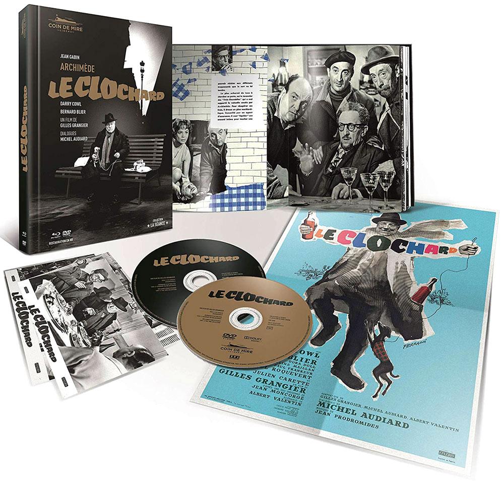 Archimède le clochard - Édition prestige limitée numérotée Blu-ray + DVD + livret + photos + affiche
