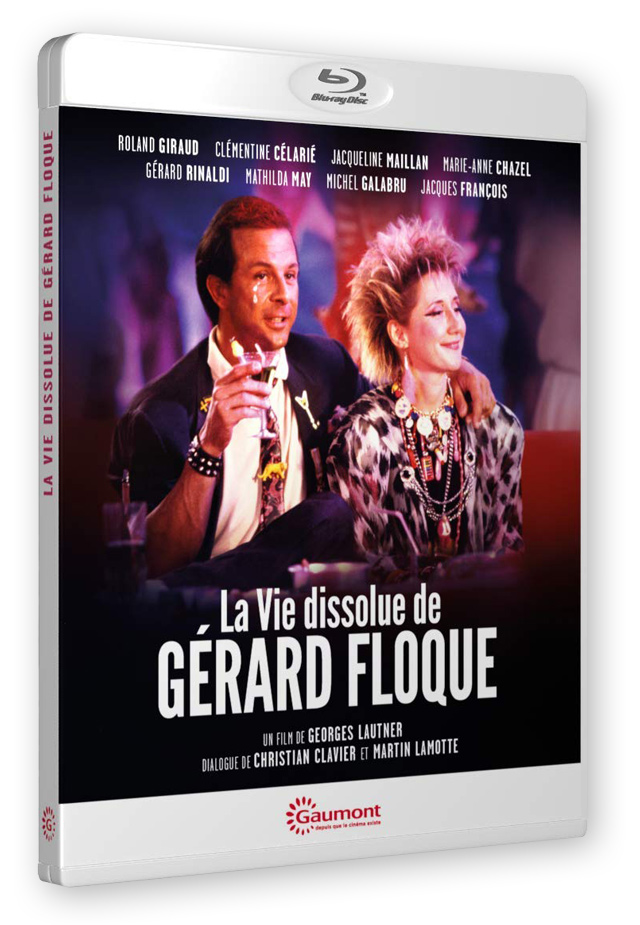 La Vie dissolue de Gérard Floque (Georges Lautner, 1986) - Blu-ray