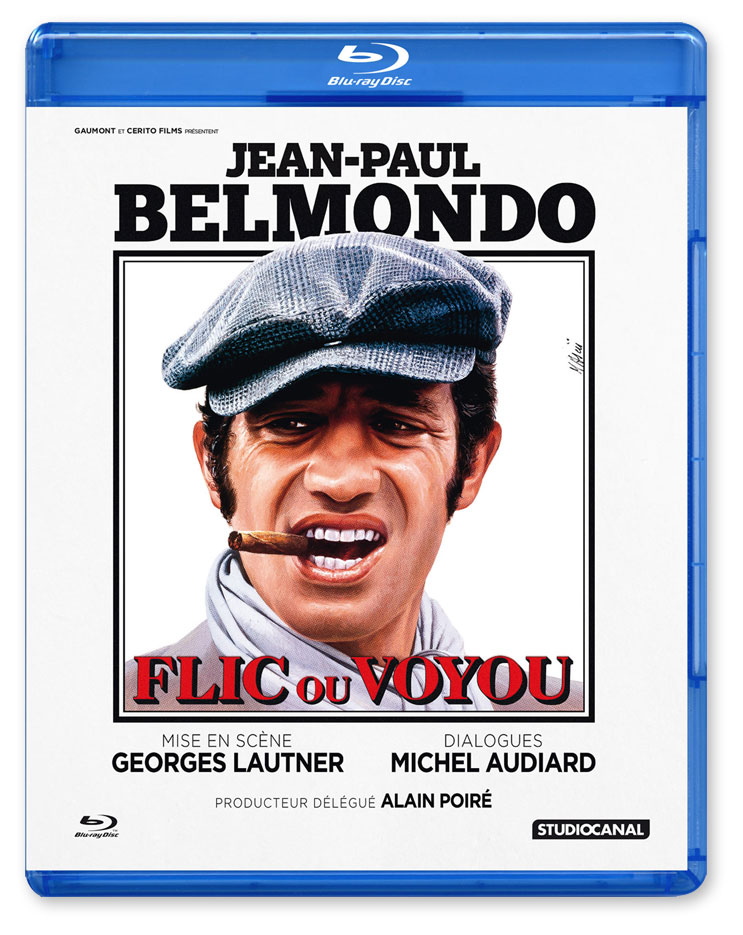 Flic ou voyou (Georges Lautner, 1979) - Blu-ray