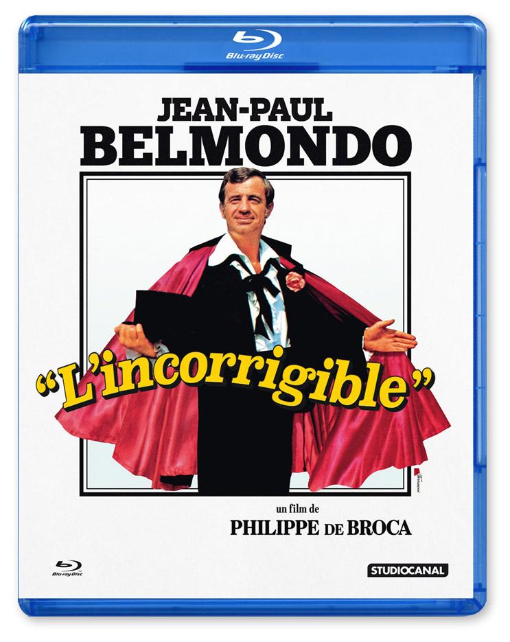 L'Incorrigible (Philippe de Broca, 1975) - Blu-ray