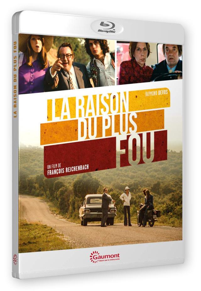 La Raison du plus fou (François Reichenbach, 1973) - Blu-ray