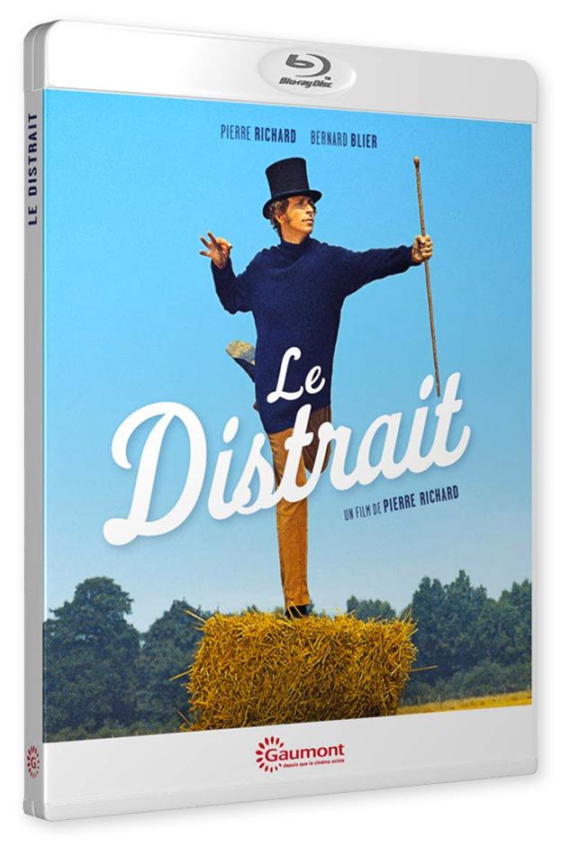 Le Distrait de Pierre Richard (Gaumont vidéo) - Blu-ray