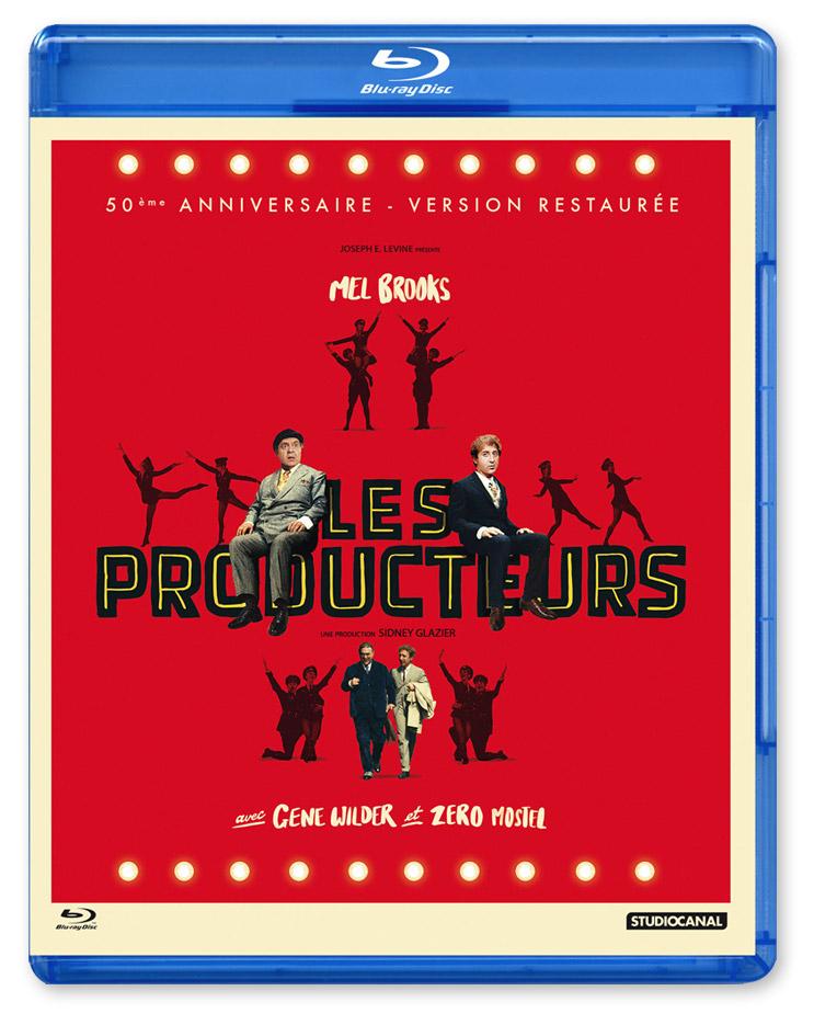 Les Producteurs (Mel Brooks, 1967) - Blu-ray