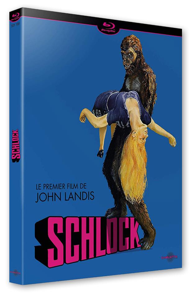 Schlock (John Landis, 1973) - Blu-ray