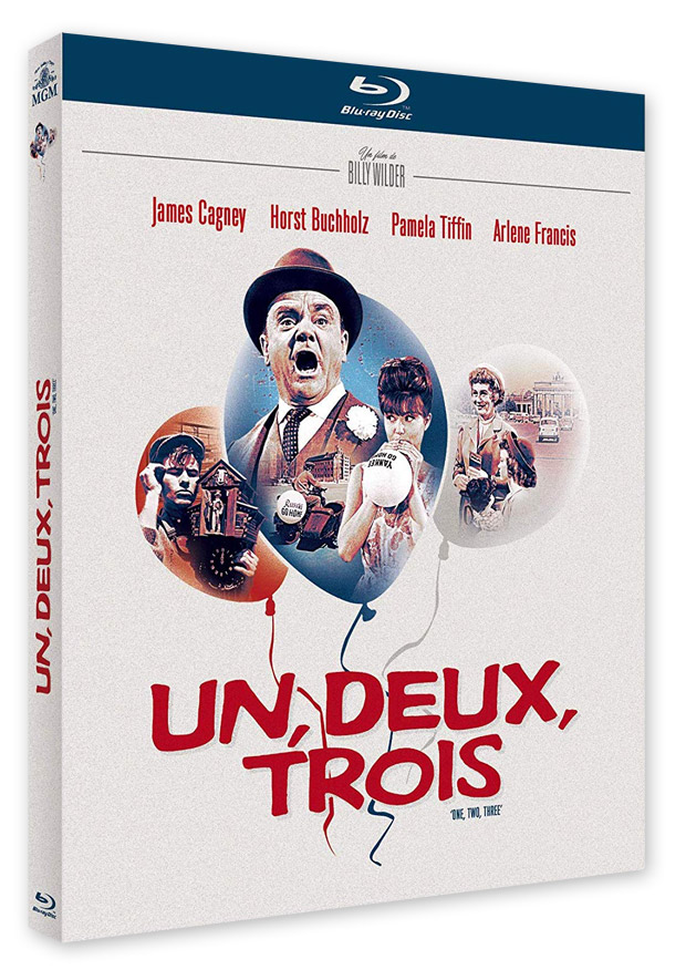 Un, deux, trois (One, Two, Three) de Billy Wilder (1961) - Blu-ray