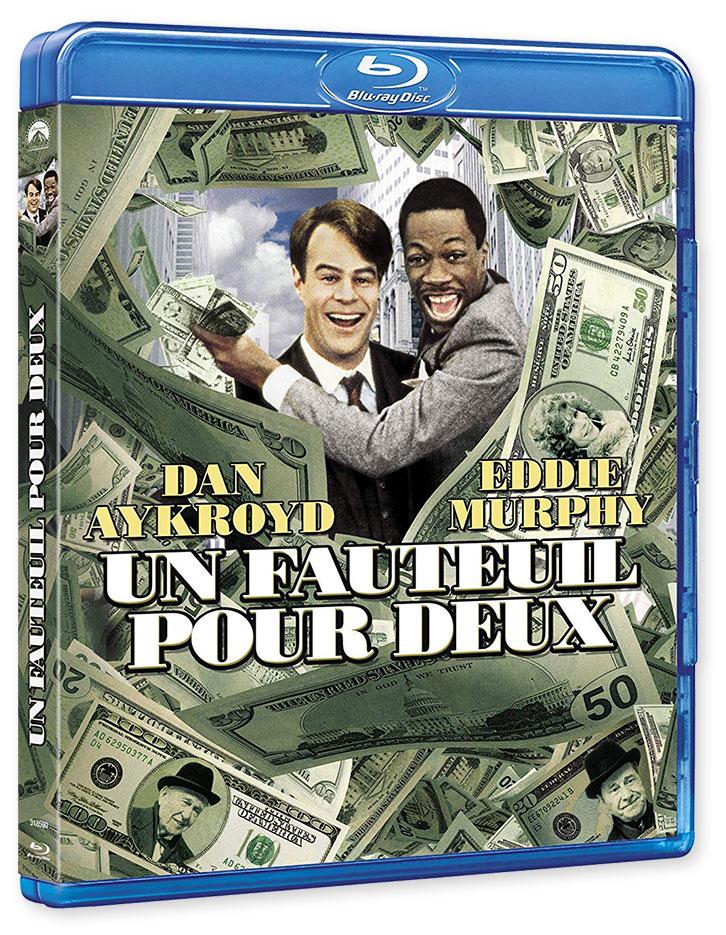 Un fauteuil pour deux (Trading Places) de John Landis (1983) - Blu-ray
