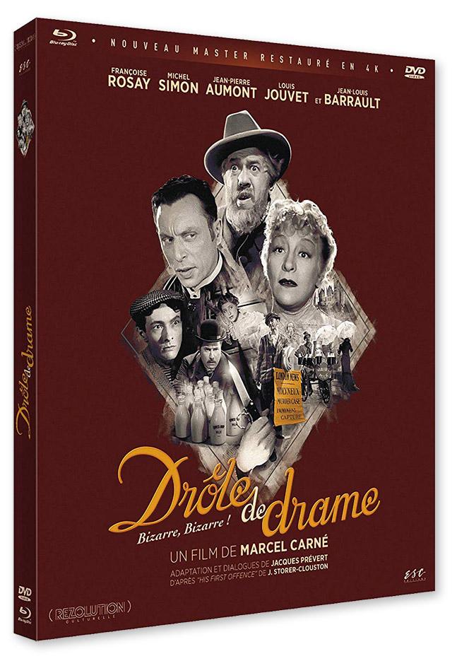 Drôle de drame (Marcel Carné, 1938) - Combo DVD/Blu-ray