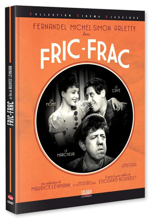 Fric-frac de Claude Autant-Lara et Maurice Lehmann (Solaris découverte) - DVD