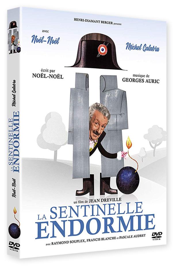 La Sentinelle endormie de Jean Dréville - DVD