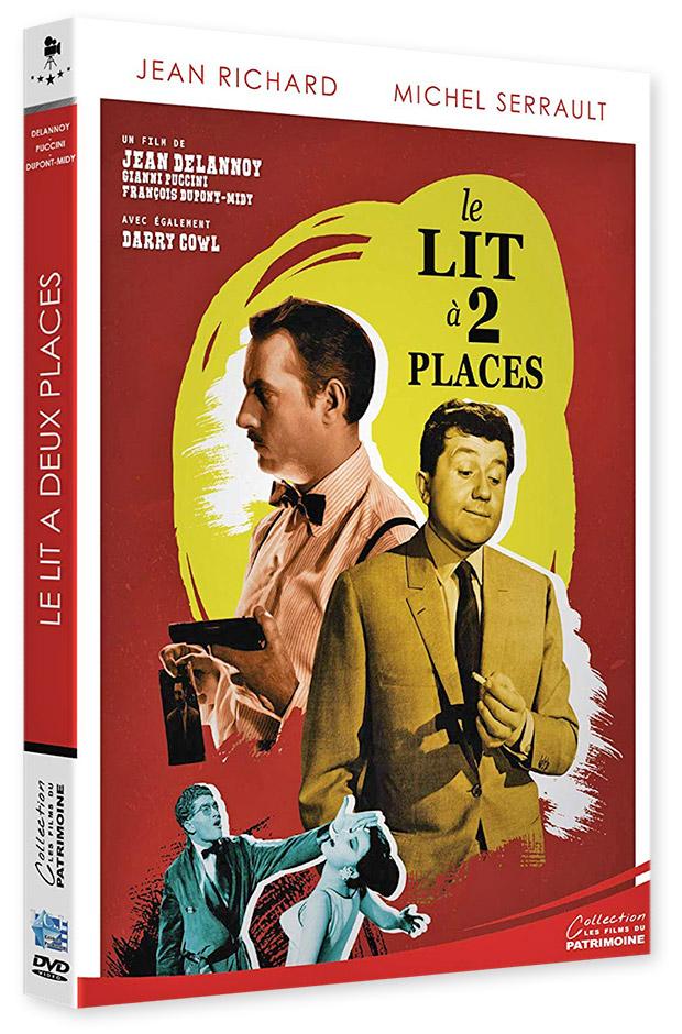 Le Lit à 2 places (1965) de Jean Delannoy, François Dupont-Midi, Alvo Mancori et Gianni Puccini - DVD