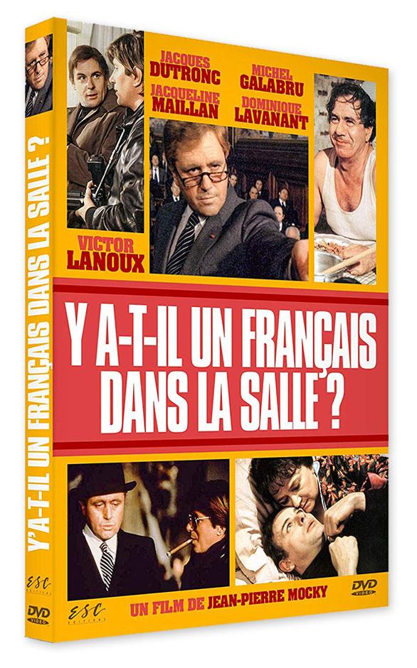 Y a-t-il un Français dans la salle ? (Jean-Pierre Mocky, 1982) - DVD