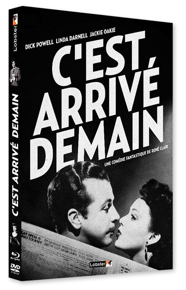 C'est arrivé demain (It Happened Tomorrow) de René Clair (1944) - DVD/Blu-ray