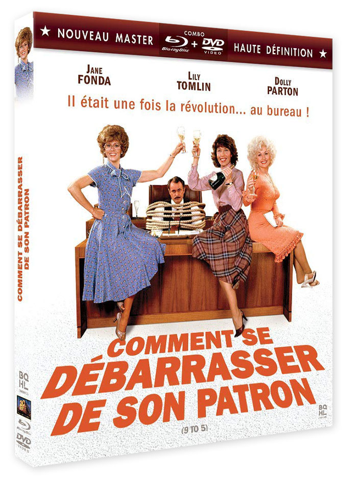 Comment se débarrasser de son patron (9 to 5) de Colin Higgins (1980) - Combo DVD/Blu-ray