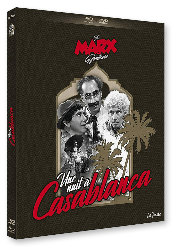 Une Nuit à Casablanca (A Night in Casablanca) de Archie Mayo (1946) - Combo DVD/Blu-ray