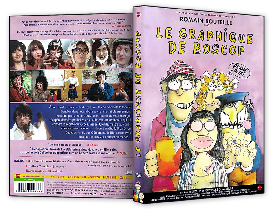 Le Graphique de Boscop - DVD