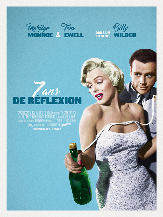 7 ans de réflexion (The Seven Year Itch) de Billy Wilder (1955)