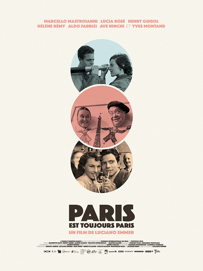 Paris est toujours paris (Parigi è sempre Parigi) de Luciano Emmer (1951)