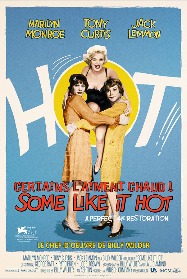 Certains l'aiment chaud (Some Like It Hot) de Billy Wilder (1959)