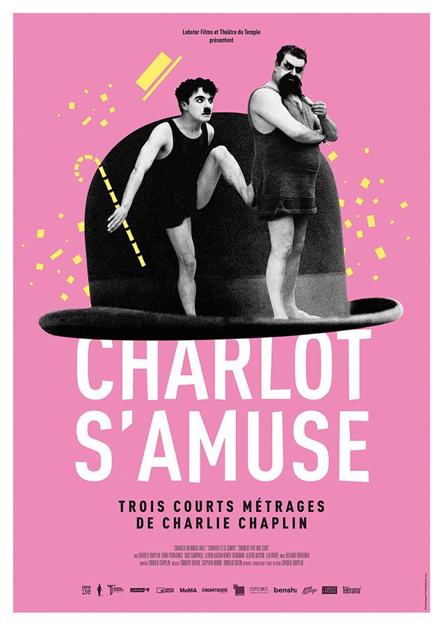 Charlot s'amuse (Charlot au music-hall, 1915 / Charlot et le comte, 1916 / Charlot fait une cure, 1917)
