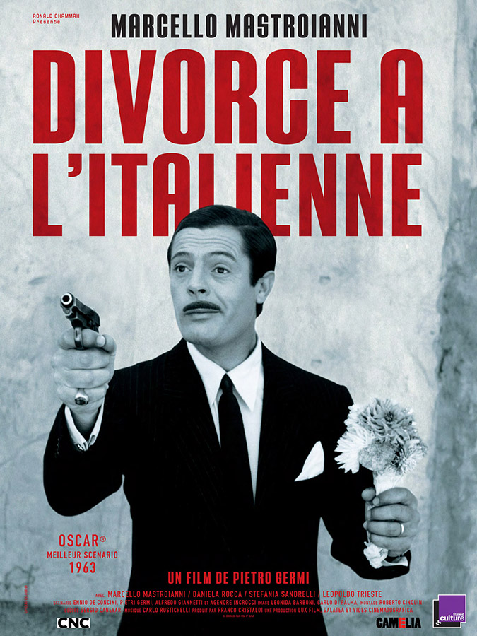 Divorce à l'italienne (Divorzio all'Italiana) de Pietro Germi (1961)