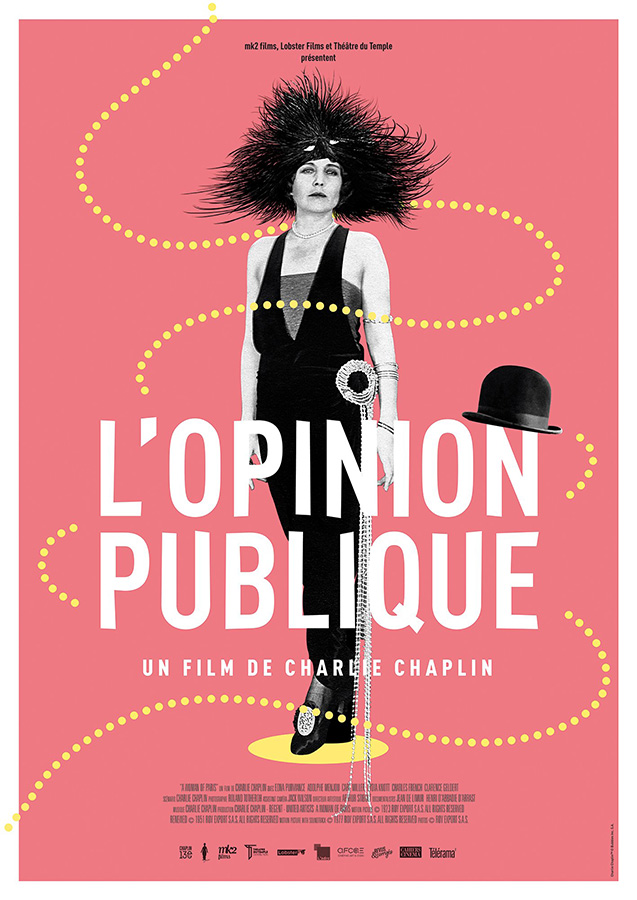 L'Opinion publique (A Woman of Paris: A Drama of Fate) de Charlie Chaplin (1923)